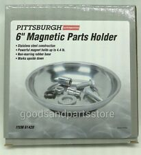 """Magnet Parts Bowl Holder 6"""" Magnetic Parts Holder Stainless Steel Free Ship"""