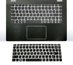 matte black Palmrest Skin + Keyboard Cover for Lenovo Yoga 710 720 730 13'' 15''