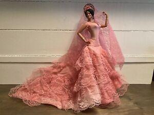 "Martin Doll Vintage 18"" Chiclana Esmeralda Made In Spain"