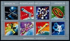 [77939] Yemen YAR 1970 Space Travel Weltraum Full Sheet MNH