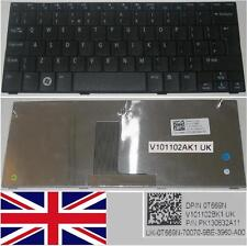 Clavier Qwerty UK DELL Mini 10 Insp 1010 0T669N PK130832A11, 0T669N T669N Noir