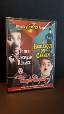 Charlie Chaplin dvd x2 set Tillies Punctured Romance / A Burlesque on Carmen NEW