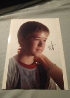 HALEY JOEL OSMENT SIGNED 8X10 PHOTO SIXTH SENSE DEAD PPLE W/PROOF+COA RARE WOW