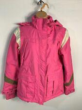 NUOVA L DONNA TRESPASS iniziare INVERNALI IN FINTA PELLICCIA NEVE SKI jacket coat XS