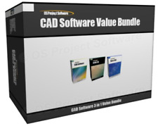 Value Bundle - 2018 2D 3D CAD Uses AutoCAD DWG File Aided Design Software