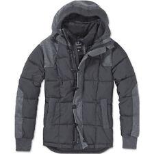 Cappotti e giacche da uomo neri con cappuccio in lana