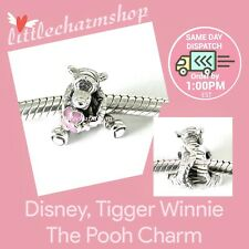 Authentic PANDORA Disney Tigger Charm Sterling Silver Enamel 792135EN80