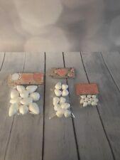 30 Mixed Cel Buds Polystyrene Flower Bud Cake Decorating Sugarcraft Crafts