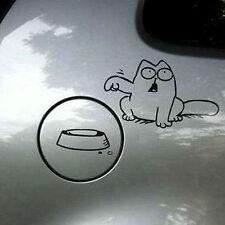 BLACK Funny Cat For Auto Car/Bumper/Window Vinyl Decal Sticker Decals DIY Decor