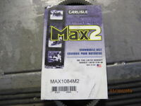 POLARIS CARLISLE MAX2 SNOWMOBILE BELT MAX1084M2
