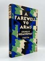 A Farewell to Arms – FIRST EDITION (UK) – Original Dust Jacket – HEMINGWAY 1929