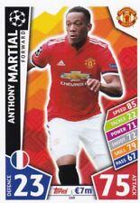 Anthony Martial  2017-18 Topps Champions League Match Attax,Sammelkarte,#160