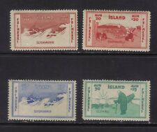 stamps  Iceland  SC#B1-4