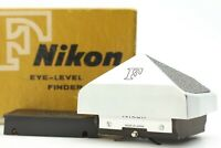 【MINT in BOX】 Nikon F Eye Level Prism View Finder Silver For 35mm SLR JAPAN 1116