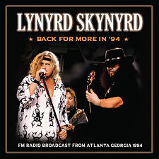 LYNYRD SKYNYRD New Sealed 2018 UNRELEASED LIVE 1994 ATLANTA CONCERT CD