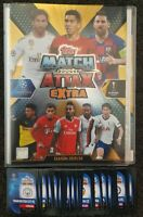 2020 Match Attax Extra Soccer Cards - Official Folder + 50 cards (5 shiny)