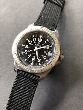 1990s Vintage Oris Worldtimer Automatic Mens Watch ETA 2824-2 38,5mm