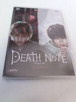 """DVD """"DEATH NOTE LA PELICULA"""" COMO NUEVO KENJI KAWAI SHUSUKE KANEKO KATSUYA"""