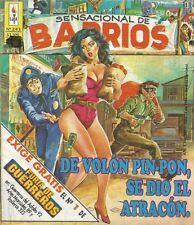 SENSACIONAL DE BARRIOS MEXICAN COMIC No.243 SPICY MEXICO SPANISH HISTORIETA 1993