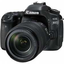 Canon EOS 80D Digital SLR Camera w/18-135mm Lens