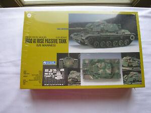 GUNZE SANGYO  HIGH-TECH MODEL  M60 A1 RISE PASSIVE TANK  (US MARINES)  1/35th