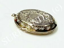 Wholesale 800 Extra Large Gold Plated Metal Lockets For Sale as One Bulk Lot