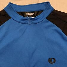 New listing Pearl iZumi Full Zip Short Sleeve Cycling Jersey (Size L) Blue