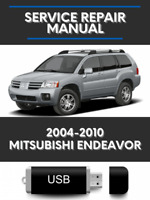 Mitsubishi Endeavor 2004-2010 Factory Service Repair Manual USB