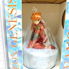 *A3081 Sega Evangelion Asuka Langley Music Box & Figure Japan Anime