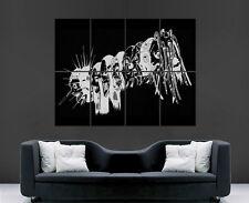 Slipknot banda música metal pesado cartel Imagen Pared Arte