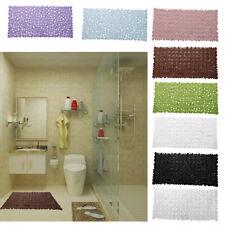Kitchen Bath Bathroom Shower Mat Home Floor Door Rug Non-Slip Suction Cups
