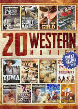 20 Western Movies Collection, Vol. 4 (DVD, 2014, 4-Disc Set)(761)
