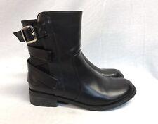 Modern Rush Black Biker Boots. Size 9 US