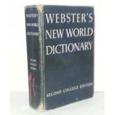 Webster's Dictionary of the American Language Second College Edition 1970's