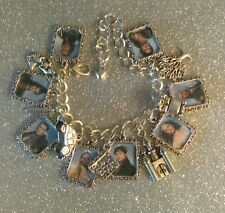 Silver Plated Charm Bracelet Charms Once Upon A Time Emma Hook Rumple Charming