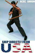 ♠US SELLER♠︎ 1/6 Bruce Lee Three Section Cudgel Chinese Kung Fu Martial Art