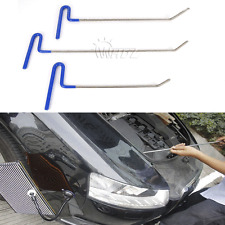 3pcs PDR Paintless Dent Puller Rods Hail Removal Tools Car Body Repair Kit(B)