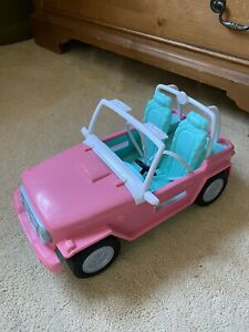 Barbie Genuine Official Open Top Jeep SUV Toy Car New