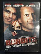 DVD - Como nuevo - BANDIDOS -zona 2 - BRUCE WILLIS, CATE BLANCHETT