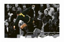 ERIC CANTONA KUNG FU KICK AUTOGRAPHED SIGNED A4 PP POSTER PHOTO