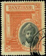 Zanzibar Scott #217 Used