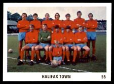 The Sun Football Swap Cards 1970 - Halifax Town No. 55