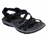Skechers Reggae Slim Vacay Sporty Casual Memory Foam Womens Sandals  40955 USED