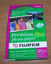 "FUJIFILM PREMIUM PLUS PHOTO PAPER - 20 sheets - Glossy - 4"" x 6"""