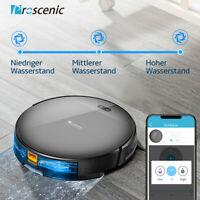 Proscenic 800T Alexa Aspirateur Robot laveur de sol Tapis App Carte Navigation