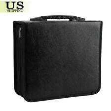 350 Disc CD DVD Organizer Holder Storage Case PU Bag Wallet Album Media Video