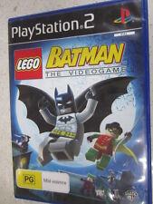 lego batman the videogame PS2