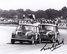 Paddy Hopkirk Hand Signed 10x8 Mini Photo 1963 British GP.