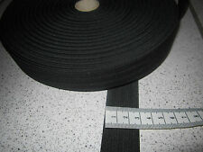 ( 1,36 € / m)   5 m Gummiband 3 cm Breit  Farbe: schwarz Hohe Spannkraft