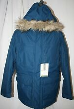 EDDIE BAUER MEN WeatherEdge® Superior Down Parka EXTREME COLD JACKET BLUE 2x 2xl